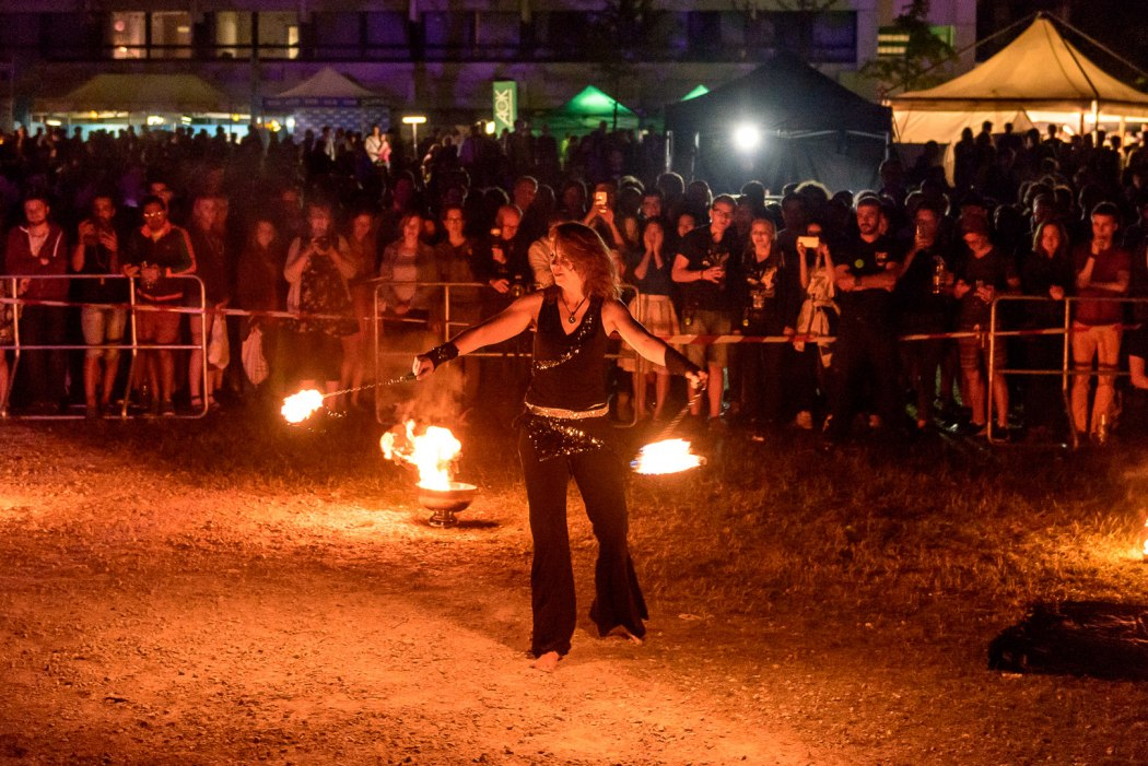"SSC2017: Atrium: Die Feuerzeuger: ""Fire and flames"""